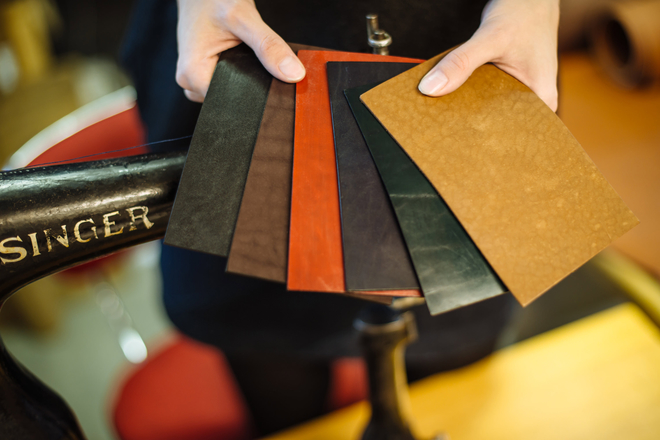 Leather accessories brand R leather variations